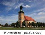pilgrimage church in ralbitz... | Shutterstock . vector #1016057398