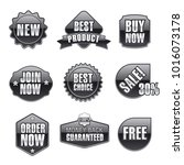 illustration of sale tags | Shutterstock . vector #1016073178