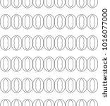 seamless geometric ornamental... | Shutterstock .eps vector #1016077000