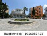 tel aviv  israel   2018... | Shutterstock . vector #1016081428
