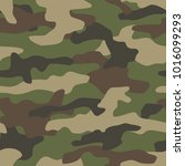 camouflage seamless pattern....   Shutterstock .eps vector #1016099293