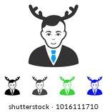 gladness horned husband vector... | Shutterstock .eps vector #1016111710