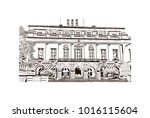 austin  texas  usa. hand drawn... | Shutterstock .eps vector #1016115604