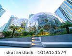 01 22 2018   view of amazon the ... | Shutterstock . vector #1016121574