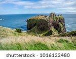 dunnottar castle ruins...