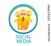 social networking color... | Shutterstock .eps vector #101613940