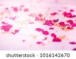 Stock photo rose petals for background usage selective focus 1016142670