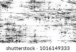 grainy black and white distress ... | Shutterstock .eps vector #1016149333