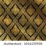 thai art background thai art...   Shutterstock .eps vector #1016155930