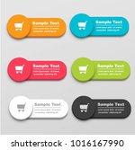 buy button set | Shutterstock .eps vector #1016167990