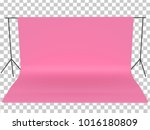 pink backdrop paper  clipping... | Shutterstock . vector #1016180809