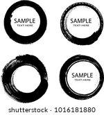 vector frames. circle label for ... | Shutterstock .eps vector #1016181880