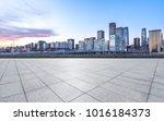 empty marble floor with...   Shutterstock . vector #1016184373