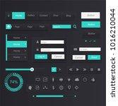 interface turquoise set