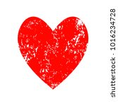 red heart icon for your amazing ... | Shutterstock .eps vector #1016234728