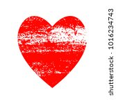 red heart icon for your amazing ... | Shutterstock .eps vector #1016234743