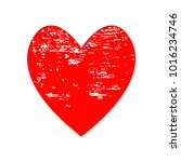 red heart icon for your amazing ... | Shutterstock .eps vector #1016234746