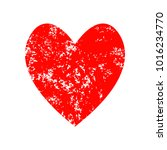 red heart icon for your amazing ... | Shutterstock .eps vector #1016234770