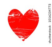 red heart icon for your amazing ... | Shutterstock .eps vector #1016234773