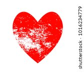 red heart icon for your amazing ... | Shutterstock .eps vector #1016234779