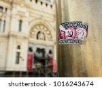june 21  2017. close up of a... | Shutterstock . vector #1016243674