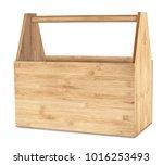 Empty Retro Wooden Bamboo Tool...