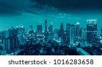 bangkok city at  thailand | Shutterstock . vector #1016283658