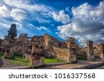 pompei  italy. 02 01 2018. the... | Shutterstock . vector #1016337568