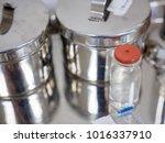 close up detail of an empty... | Shutterstock . vector #1016337910