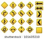 road signs | Shutterstock .eps vector #101635210