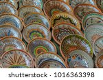 background with romanian... | Shutterstock . vector #1016363398