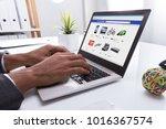 close up of a businessperson's...   Shutterstock . vector #1016367574