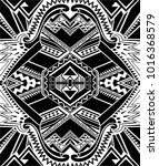 turkish abstract pattern. for... | Shutterstock . vector #1016368579