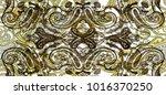 pattern in paisley style.... | Shutterstock . vector #1016370250