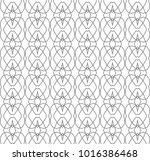 seamless geometric ornamental...   Shutterstock .eps vector #1016386468