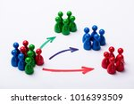 customer market segmentation... | Shutterstock . vector #1016393509
