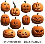 Halloween Pumpkins 3d...