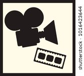 cinema vector set  camera and...