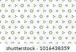 ancient geometric pattern in... | Shutterstock . vector #1016438359