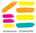 collection of hand drawn... | Shutterstock .eps vector #1016442940