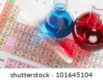 photo of a periodic table of... | Shutterstock . vector #101645104