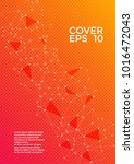 cover page layout. global... | Shutterstock .eps vector #1016472043