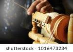 action detail of hands working... | Shutterstock . vector #1016473234