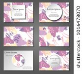 minimal vector covers set.... | Shutterstock .eps vector #1016478070