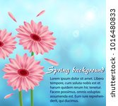 abstract spring background with ...   Shutterstock .eps vector #1016480833