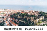 aerial panoramic view over... | Shutterstock . vector #1016482333