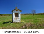 Small Chapel In Rural Landscape ...