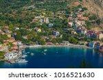 assos or asos village in... | Shutterstock . vector #1016521630