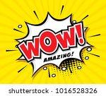 freehand drawn comic speech... | Shutterstock .eps vector #1016528326