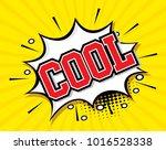 freehand drawn comic speech... | Shutterstock .eps vector #1016528338